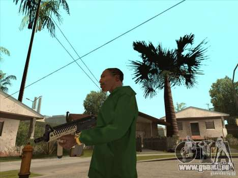 M4 de Call of Duty pour GTA San Andreas troisième écran