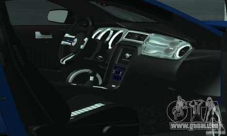 Ford Mustang Boss 302 2013 pour GTA San Andreas vue de côté