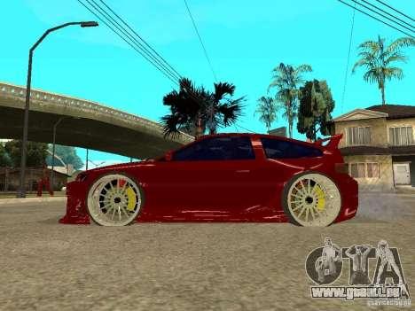Honda CRX ED9 pour GTA San Andreas laissé vue