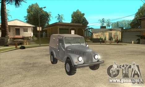 ARO M461 pour GTA San Andreas vue arrière