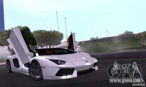 Lamborghini Aventador LP700-4 Final für GTA San Andreas Seitenansicht