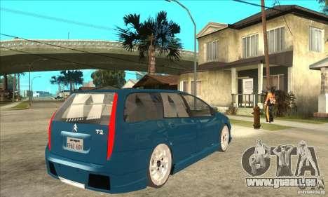 Citroen C5 Break pour GTA San Andreas vue de droite