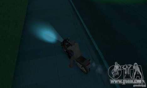 Farbe Glimmlampen für GTA San Andreas dritten Screenshot
