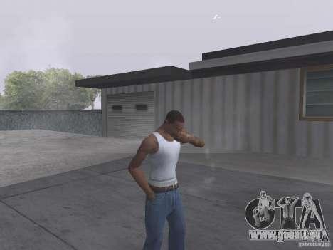 Die Möglichkeit zu rauchen für GTA San Andreas