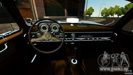 Mercedes-Benz 300 SL GullWing 1954 v2.0 für GTA 4 Rückansicht