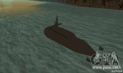 Uboot für GTA San Andreas