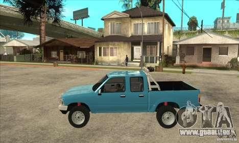 Toyota Hilux CD pour GTA San Andreas laissé vue