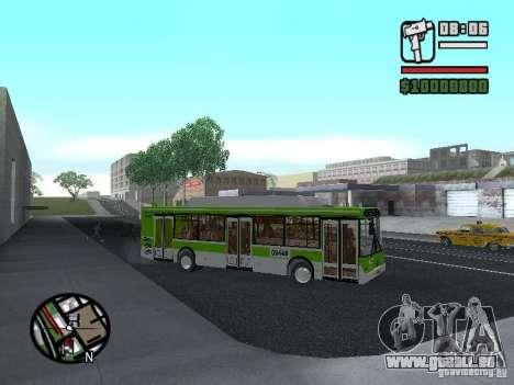 LIAZ 5292.70 pour GTA San Andreas vue arrière