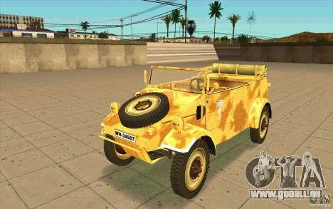 Kuebelwagen v2.0 desert pour GTA San Andreas