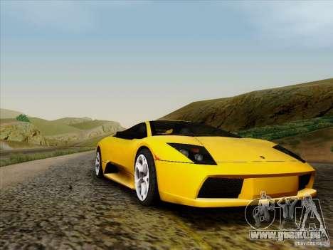 Lamborghini Murcielago LP640-4 pour GTA San Andreas laissé vue