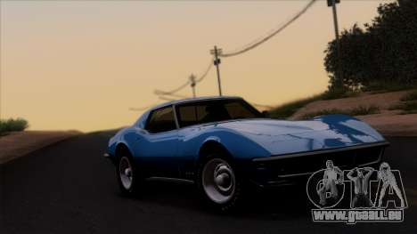 Chevrolet Corvette C3 Stingray T-Top 1969 v1.1 pour GTA San Andreas