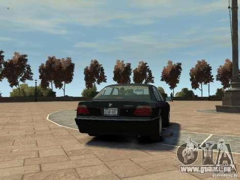 BMW 750i (E38) 1998 pour GTA 4 est un droit