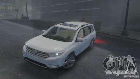 Toyota Highlander 2012 v2.0 für GTA 4