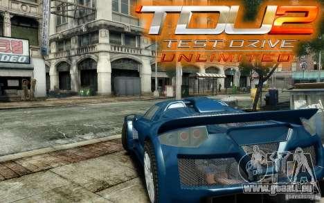 Gumpert Apollo Sport pour GTA 4 est une vue de l'intérieur