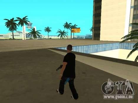 Black Rifa SkinPack pour GTA San Andreas quatrième écran