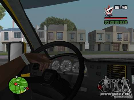 Aktives dashboard für GTA San Andreas dritten Screenshot