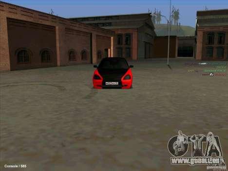 Lada 2170 Priora für GTA San Andreas linke Ansicht