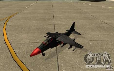 Black Hydra v2.0 pour GTA San Andreas laissé vue
