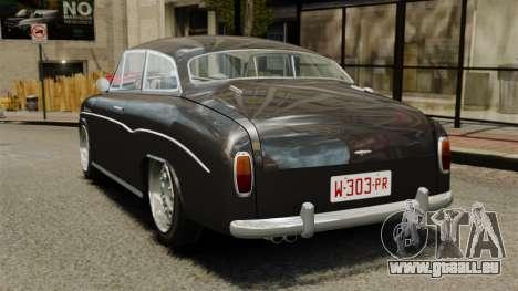 Syrena Coupe V8 pour GTA 4 Vue arrière de la gauche