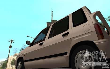 Daewoo Tico SX für GTA San Andreas Rückansicht