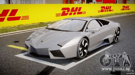 Lamborghini Reventon v2 für GTA 4 Rückansicht
