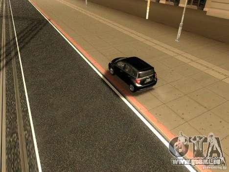 Scion xD pour GTA San Andreas vue arrière