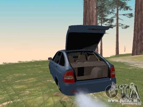 LADA 2170 Hatchback pour GTA San Andreas vue de droite
