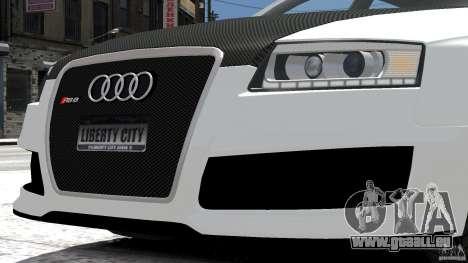 Audi RS6 Avant 2010 Carbon Edition pour GTA 4 est une vue de l'intérieur
