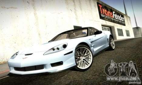 Chevrolet Corvette ZR-1 pour GTA San Andreas