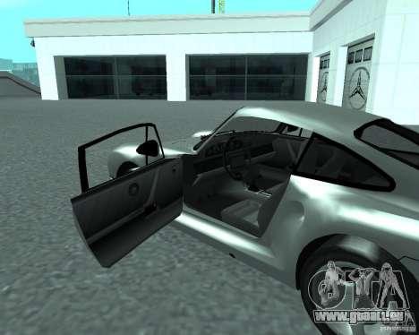 PORSHE 959 für GTA San Andreas zurück linke Ansicht