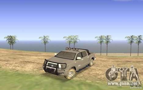 Toyota Tundra 4x4 für GTA San Andreas
