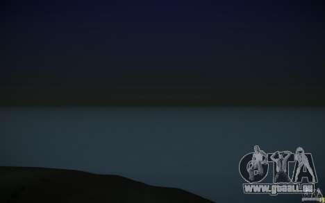 HD Wasser v3. 0 für GTA San Andreas her Screenshot