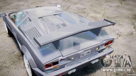 Lamborghini Countach pour GTA 4 est un côté