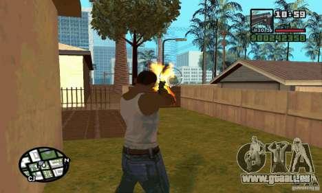 K.44 Magnum (Chrome) pour GTA San Andreas quatrième écran