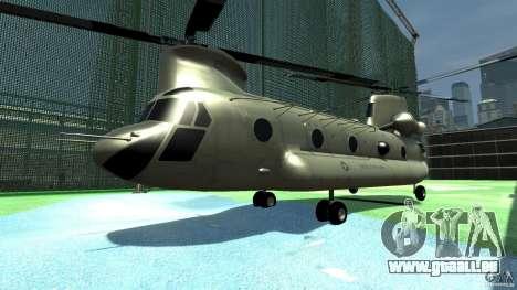 CH-47 für GTA 4 linke Ansicht