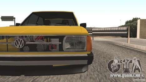 Volkswagen Passat TS 1981 Original pour GTA San Andreas vue de droite