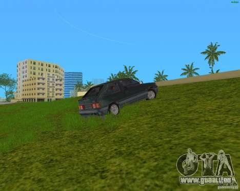 Lada Samara 3doors pour une vue GTA Vice City de la gauche