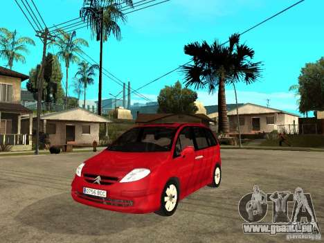 Citroen C8 für GTA San Andreas