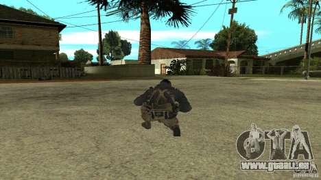 Soap pour GTA San Andreas deuxième écran