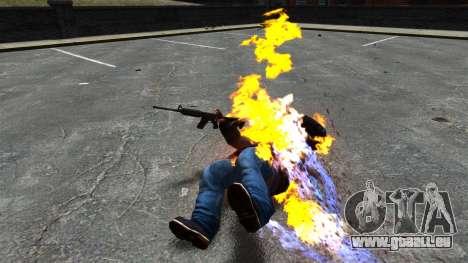 Balles de feu pour GTA 4 troisième écran