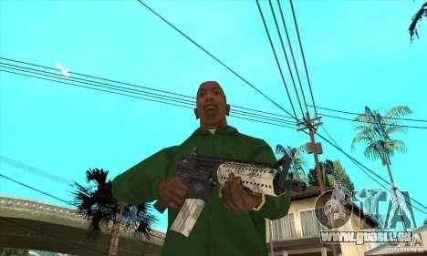 M4 Schulterstütze für GTA San Andreas