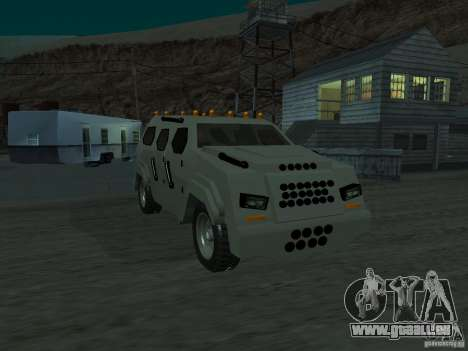 FBI Truck from Fast Five pour GTA San Andreas