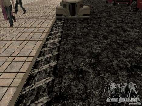 New roads in Las Venturas pour GTA San Andreas cinquième écran