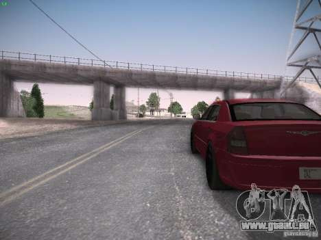 Chrysler 300C SRT8 pour GTA San Andreas vue arrière