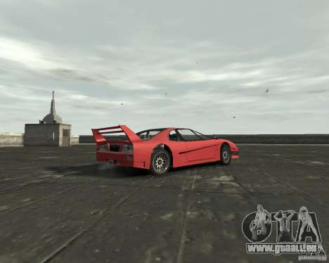 Turismo from GTA SA pour GTA 4 est un droit