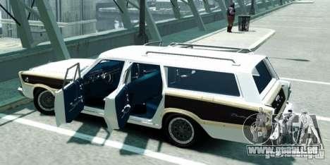 Ford Country Squire für GTA 4 hinten links Ansicht