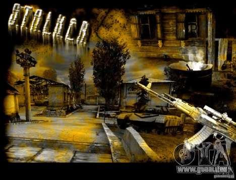 Nouvel écran de démarrage STALKER pour GTA San Andreas