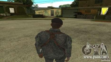 Shepard von CoD MW2 für GTA San Andreas dritten Screenshot