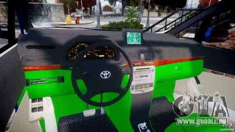 Toyota Alphard 2007 für GTA 4 Rückansicht