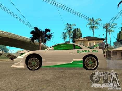 Mitsubishi Eclipse Midnight Club 3 DUB Edition pour GTA San Andreas laissé vue